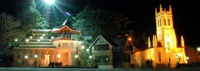 37_shimla-church_night_view